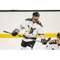 Forward Nick Rivera with the Wheeling Nailers